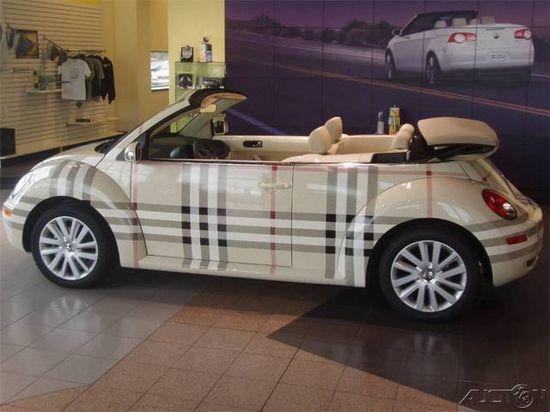 Burberry car ?