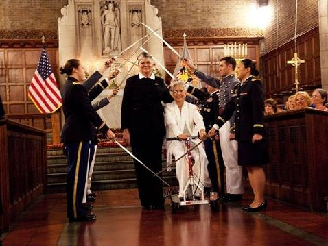 West Point chapel hosts its first-ever #same-sex wedding!