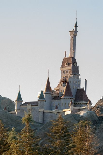 The Beast's Castle in New Fantasyland by Flip's Pics, via Flickr