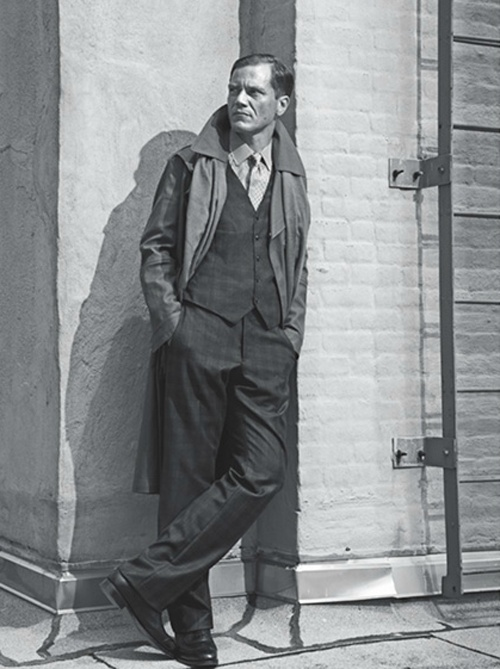 Michael Shannon: The Iceman - L'Uomo Vogue by Bjorn Iooss & Caitlin Cronenberg, September 2012