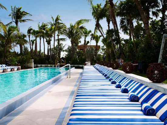 Soho Beach House hotel. Miami Beach. (Yes, please)
