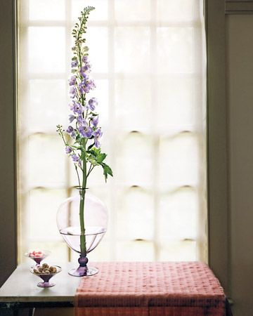 Simple Delphinium Arrangement