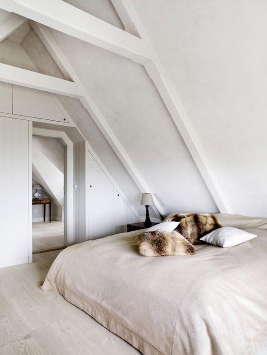 Cozy. White. Minimalist.