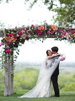 pergola wedding decorations - Google Search