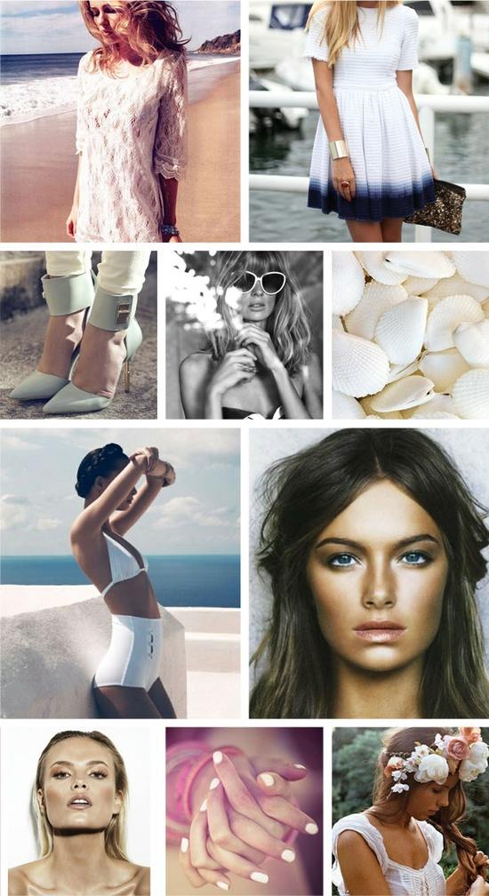 whites for summer