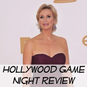 Jane Lynch is hosting Hollywood Game Night and said that competition is bringing out the worst in celebrities. You can catch Lynch now on Broadway in Annie.