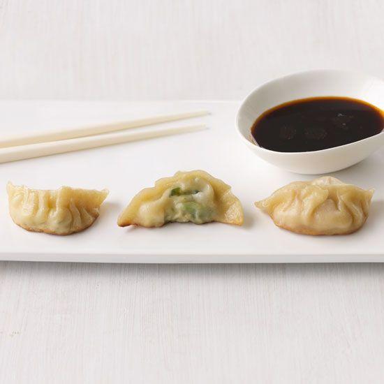 Chicken-and-Lemongrass Dumplings // More Great Asian Recipes: www.foodandwine.c... #foodandwine