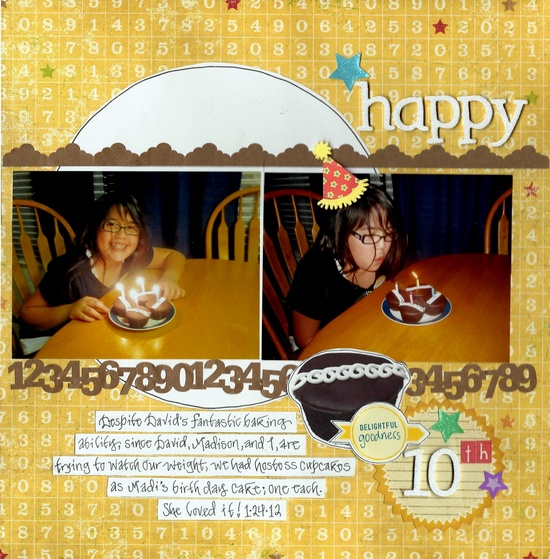 Happy 10th - Scrapbook.com