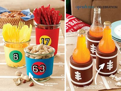 Quick And Easy Super Bowl Party Decorating Ideas