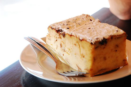 Creme Brulee Bread Pudding from Kean Coffee