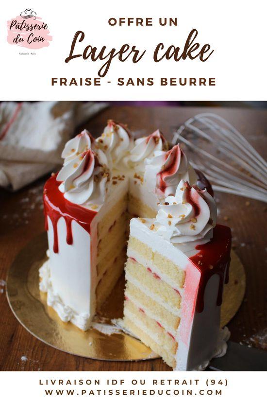 Tu organises un anniversaire, une surprise, un goûter ou tu es juste en manque d'idée pour le dessert ? Il sera parfait pour combler petits et grands, il y en a pour tous les goûts. Nous les confectionnons de manière artisanale. Nos recettes sont sans beurre, ce qui rends nos gâteaux si légers et moelleux. Le layer cake est livré dans sa boite transparente qui fera le meilleur effet devant tes convives.