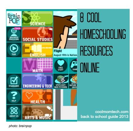 Cool homeschooling resources online, that aren't just for homeschoolers: Back to school tech guide 2013