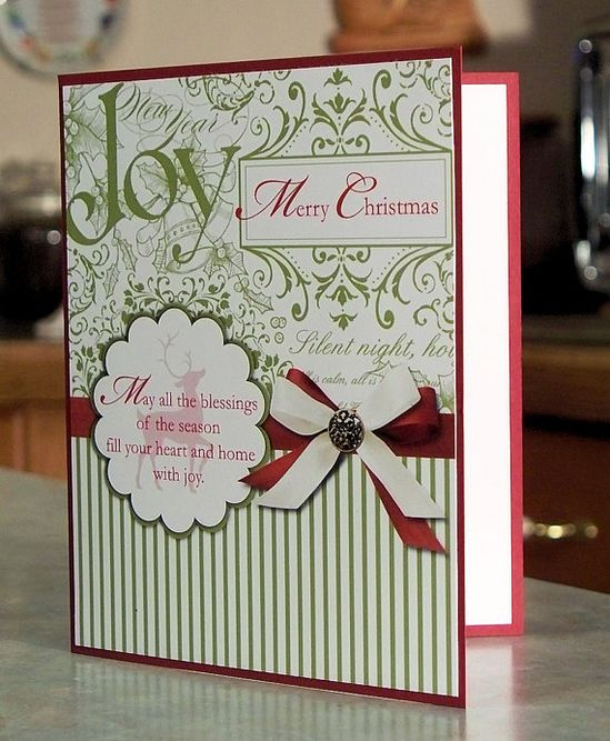 Handmade Christmas Card  Stampin Up WINTER POST  by WhimsyArtCards, $3.50