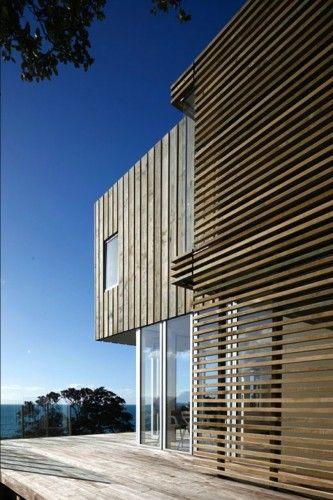 Otama Beach House, Coromandel, NZ by David Berridge Architect