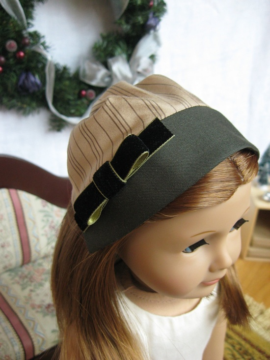 the Jane -- an attractive winter cap from Melody Valerie Couture. $35.00, via Etsy.