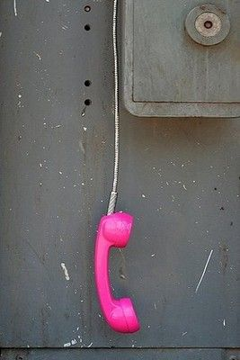 Call me, maybe?  :: June Pink
