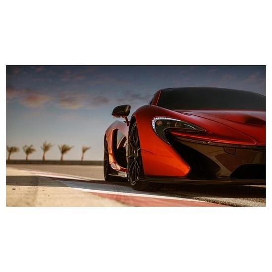 The beautiful McLaren P1