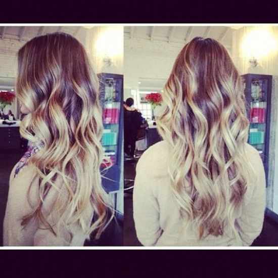 Long, wavy #Hair Style #girl hairstyle #hairstyle