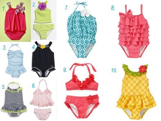 10 Cute Baby Swimsuits