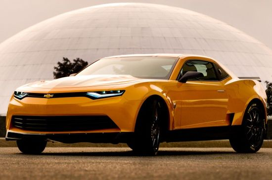 Revealed: Bumblebee as 2014 Camaro Concept for Transformers 4 - MotorTrend WOT