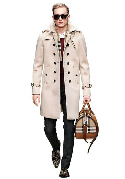 Varsity Style: Burberry Prorsum fall 2013 ready-to-wear #Fanfair