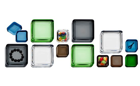 Vitriini Box by Anu Penttinen: For life's little treasures. Made of glass and aluminum.