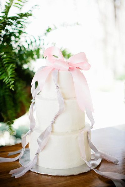 A romantic wedding cake we love! {Keepsake Memories Photography}