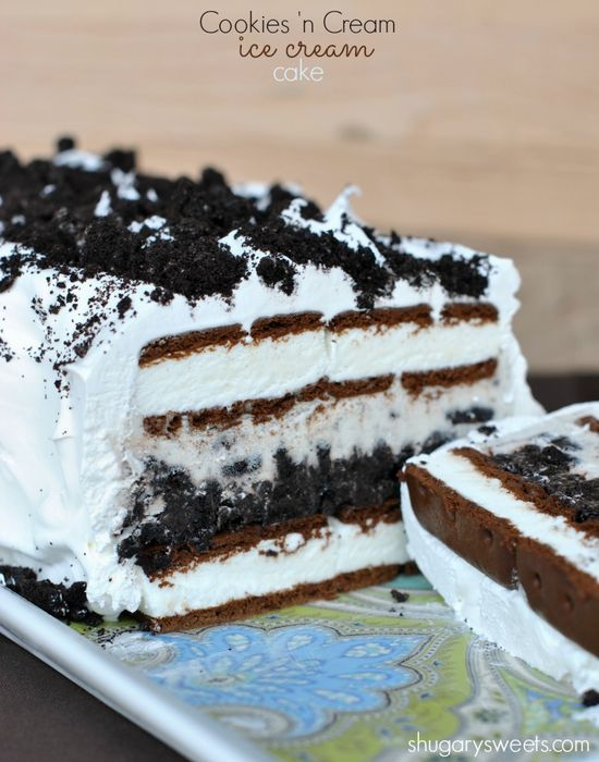 Cookies 'n Cream Ice Cream Cake