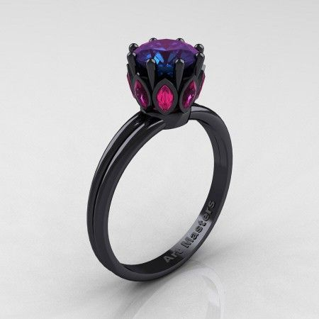 Worlds' Finest Color Change Alexandrite Rings Alexandrite Rings  Board