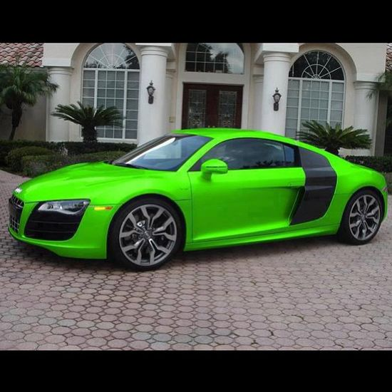Audi R8 HULK style!