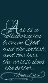 Quote for an artist