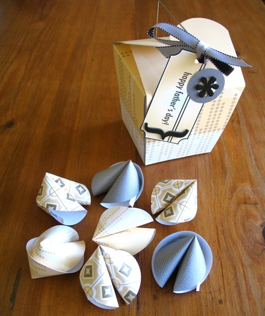 Kids Craft Ideas For Fathers Day Part - 35: Fatheru0027s Day Project: Chinese Take-out With Fortune Cookies!