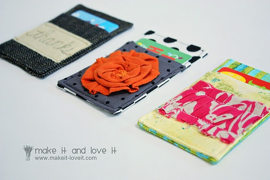 Do it Yourself Gift Card holder.  What a cute idea for any occasion!
