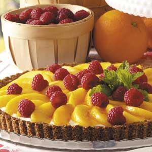 Peaches 'n' Cream Tart