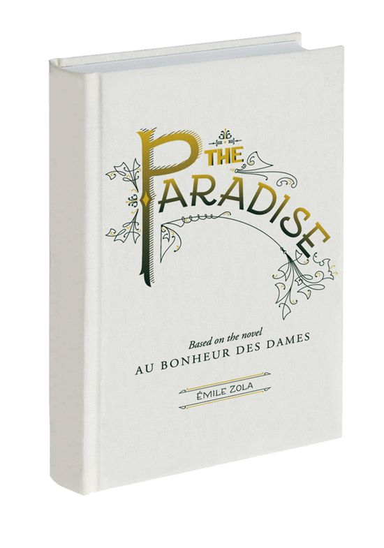 The paradise book cover designed by West end girl