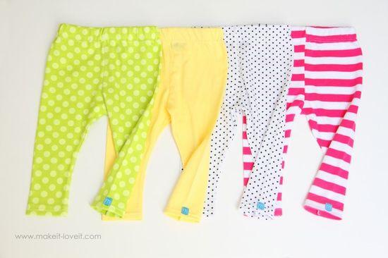 Simple leggings... super easy, super cute.