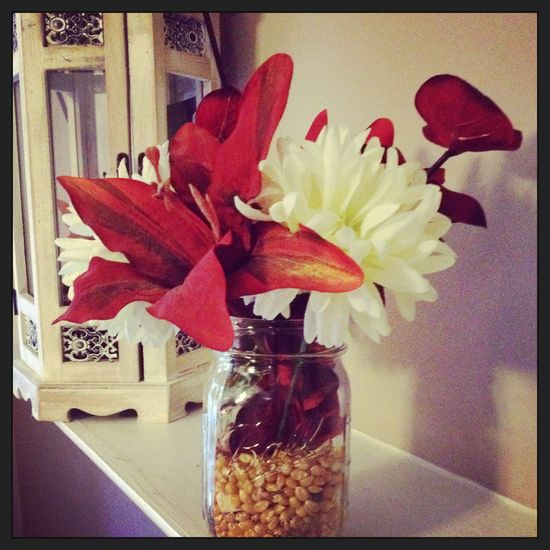 Our fall flower arrangment