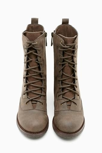 Shoe Cult Diverge Combat Boot in Brown #ShoeCult