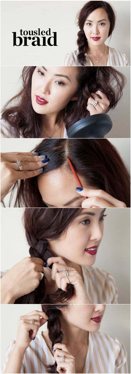 How to: Messy braid