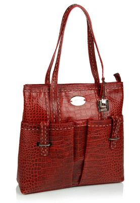 Hidesign Red Handbag Price: Rs 4795