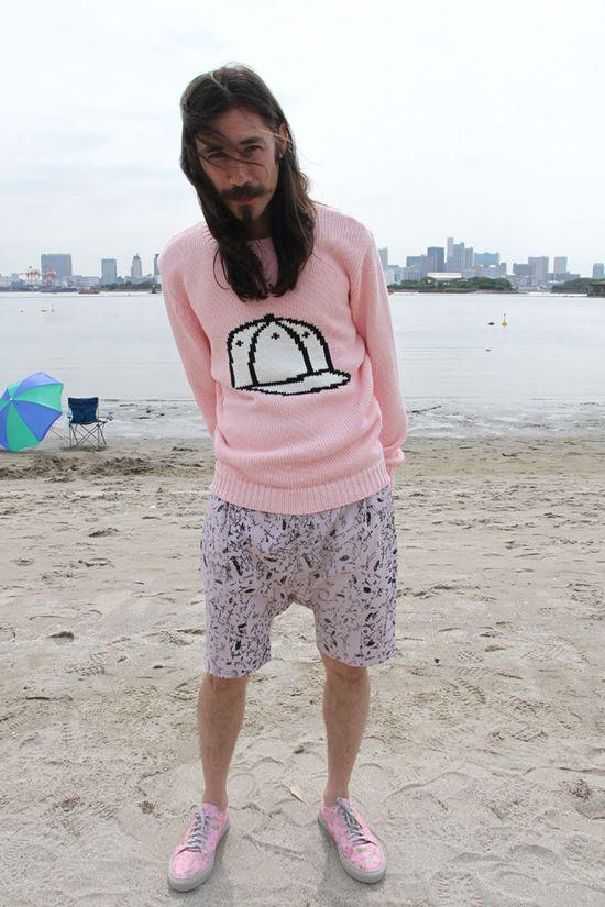 >> JULIEN DAVID CO.,LTD. Mens Spring 2013 Collection // pink