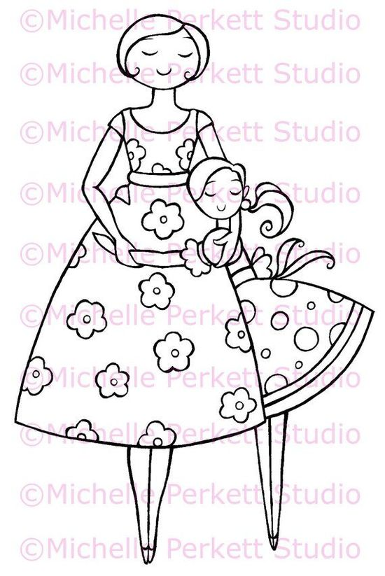 65 Best Of Photos Of Mothers Day Coloring Page