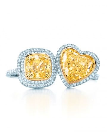 yellow diamond from Tiffany & Co.