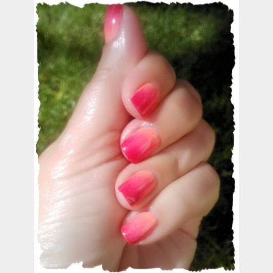 Ombre Pink Nails cute nails pink nail pretty pretty nails nail ideas nail designs ombre
