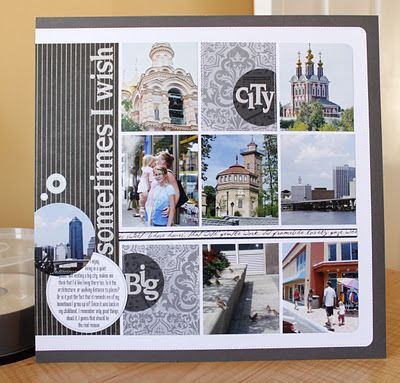 #papercraft #scrapbook #layout #travel
