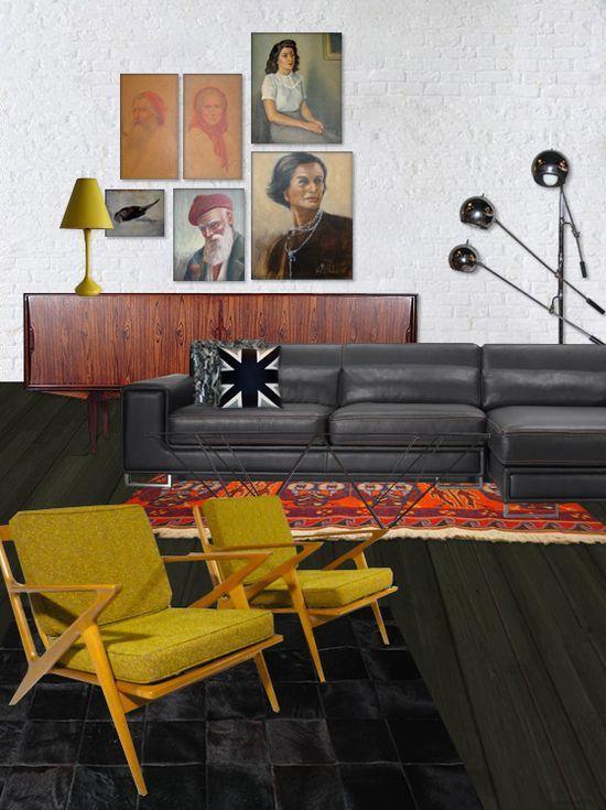 modern interior design mcm ebay mid