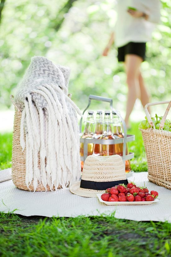 I want a picnic like this