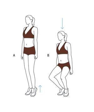 Inner Thigh Workout Move: First-Position Plié Squat