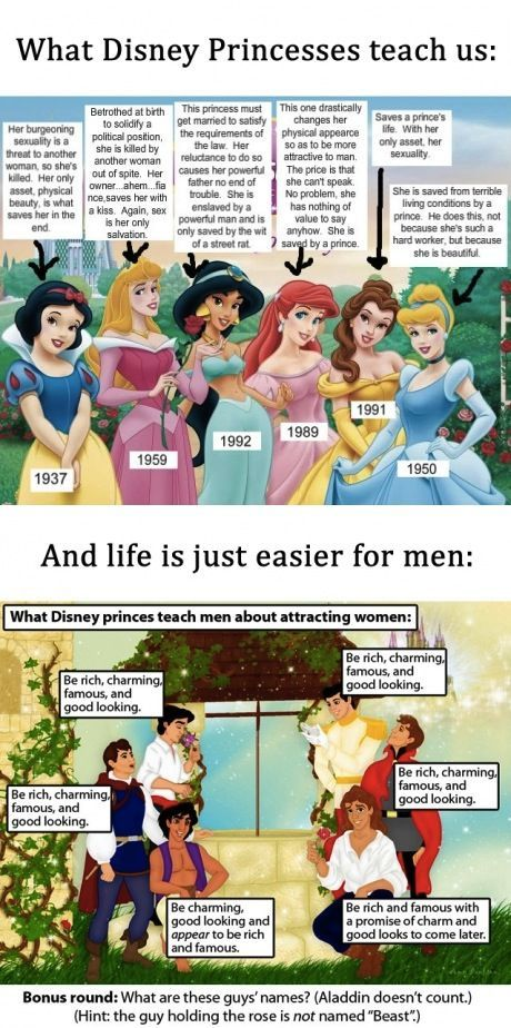 Lessons from Disney.