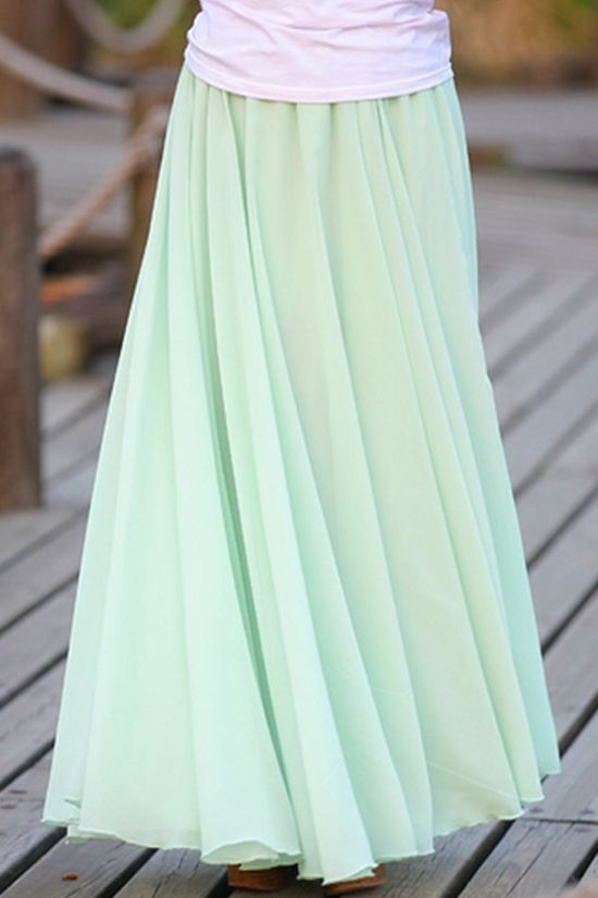 Love the color such a cute skirt